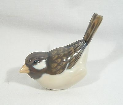 Royal Copenhagen DENMARK Figurine SPARROW OPTIMIST 083 Signed AP A Nielsen 1081