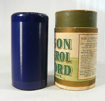 EDISON Blue Amberol  Cylinder Record 2773 Till The Boys Come Home F. Wheeler & C
