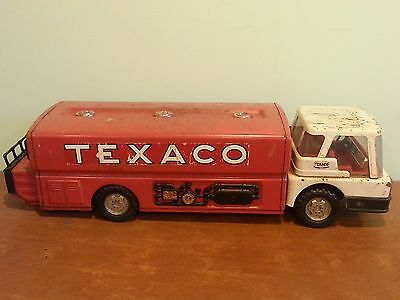 Vintage Advertising Metal Toy Texaco Tanker Truck