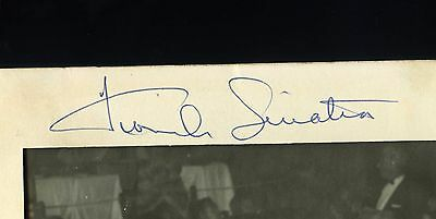 FRANK SINATRA Authentic Signed/Autograph FONTAINEBLEU MIAMI Photo Folder 1961