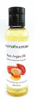 Argan Oil 100% Pure Moroccan  Best Quality For Hair Skin Nails & Beard 4 Oz