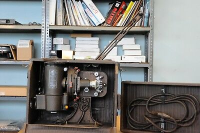 Victor 16 mm movie projector with take up reel; missing supply reel stand