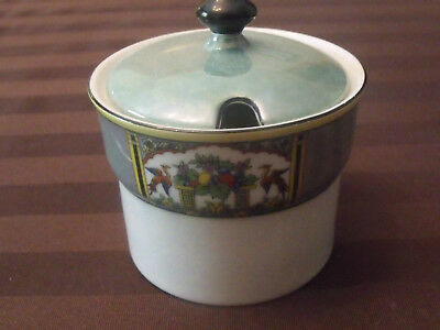 Noritake Jam Pot Luster Wear Red Mark