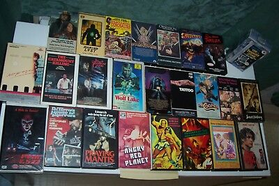 Lot Of Vhs,wolf Lake,the Fence,tattoo,sweet Nothing,outer Limits,hercules,horror