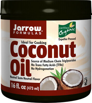 Jarrow Formulas, Organic Coconut Oil, 473g (16 oz), MCT Oil
