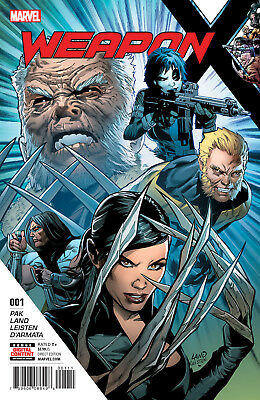 """Weapon X #1-4 +Totally Awesome Hulk #19 """"Weapons of Mutant Destruction Prelude"""""""