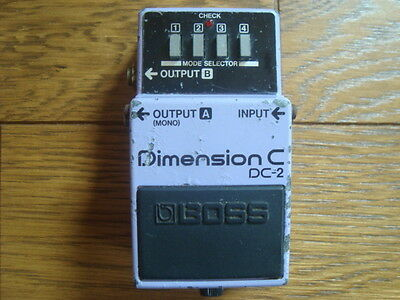BOSS DC-2 Dimension C Pedal Made in JAPAN Roland DC2 DC 2