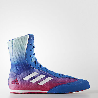 NEW Adidas Boxing Boots - BOX HOG PLUS+ Boxing Wrestling Shoes Boots NEW DESIGN