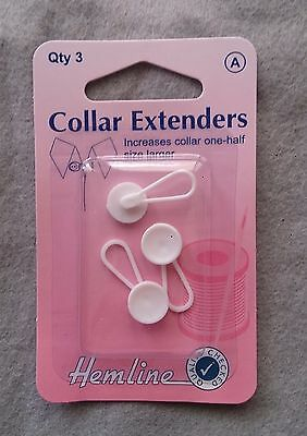 Collar extenders pack of 3 - hemline