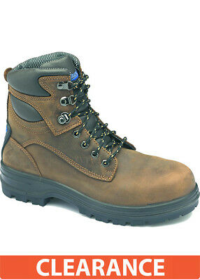 Blundstone Crazy Horse Water Resistant Lace Up Safety Boot 143 Size 13