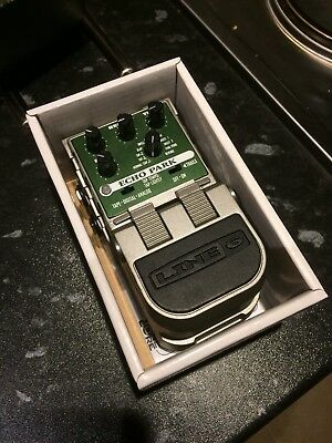 Line 6 Echo Park Delay Pedal Boxed ! MINTY