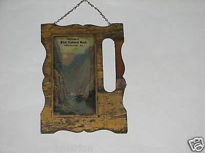 First National Bank Crescent City Illinois wall plaque Iroquois County