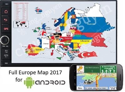 GPS IgO9 Primo Software - Full Europe 2017.Q2 Maps for Android (Link Download)