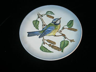 Goebel Blue Titmouse Plate Wildlife Series Second Edition 1974