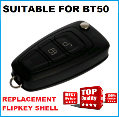 2B-REMOTE FLIP KEY BLANK SHELL Suitable for MAZDA BT50 2012 to  2016