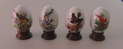 Avon 4 Seasons Porcelain Eggs