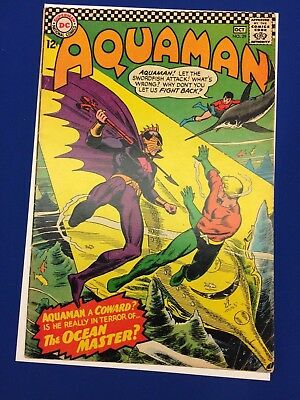 Aquaman 29, 1st Appearance of Orm, Ocean Master, 1966 Comic - Sharp Cover