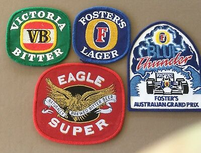 4 Cloth Brewery Patches