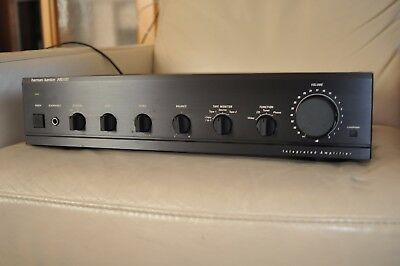 harman kardon hk verst rker integrated amplifier. Black Bedroom Furniture Sets. Home Design Ideas