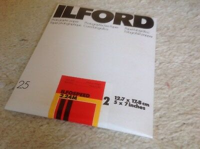 Ilford Ilfospeed 2.24M Fotopapier / Photo paper neu ovp 25 Blatt