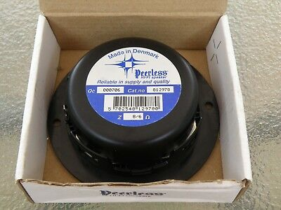 Vintage Hi-Fi Audio Peerless 100-Dt 812978 Shielded Dome Tweeter New In Orig Box