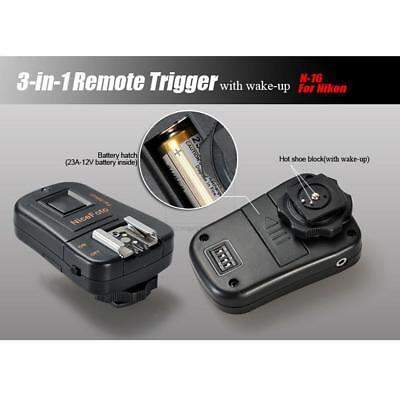 3-in-1 Remote Wireless Trigger for Nikon N-16