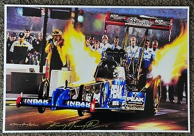 KENNY YOUNGBLOOD SIGNED AmaZZing! TJ ZIZZO TOP FUEL NITRO DRAGSTER PRINT