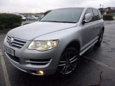 Vw Touareg Altitude Tdi Silver Fully Loaded