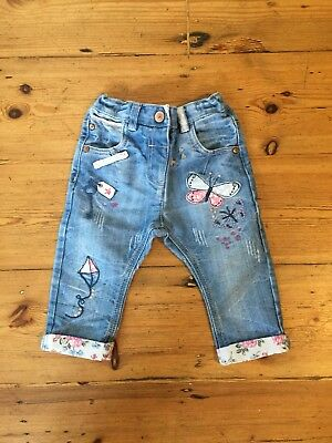 Girls Next Jeans 9-12 Months