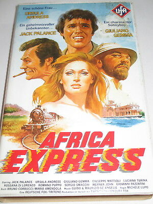UFA Video 3741 - Africa Express - VHS/Jack Palance/Giuliano Gemma/Ursula Andress
