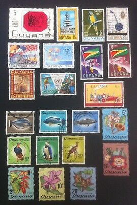 Guyana Collection. Fine Used
