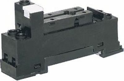 NoBrand Relay Base - DIN Rail Mount, SPDT, 10A, To Suit S4168/S4170A/S4175A