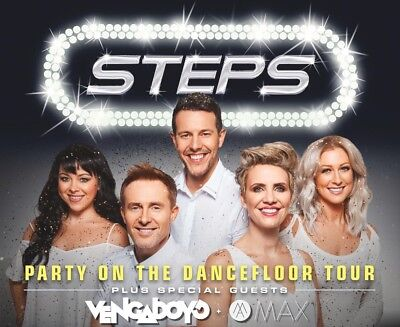 STEPS LONDON O2 & VENGABOYS TICKETS FRIDAY 24TH NOVEMBER 2017 (optional hotel)