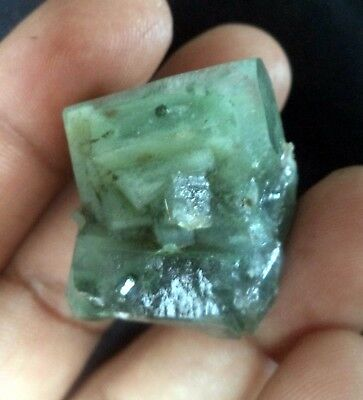 Amazing Inclusion Of Celadonite In Apophyllite Crystals # 2678