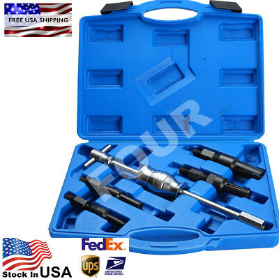 5pcs Blind Inner Internal Bearing Puller Slide Hammer Tool Set US Free Shipping