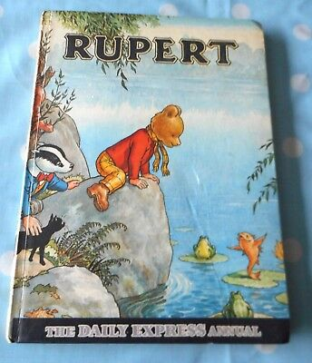 Original 1969 Rupert Annual - No Names Or Writing - Not Price Clipped