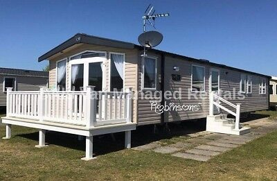 OCT HALF TERM: PRESTHAVEN BEACH, Prestatyn: 3-bed static caravan for rental