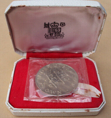 1967 Gibraltar silver proof Crown