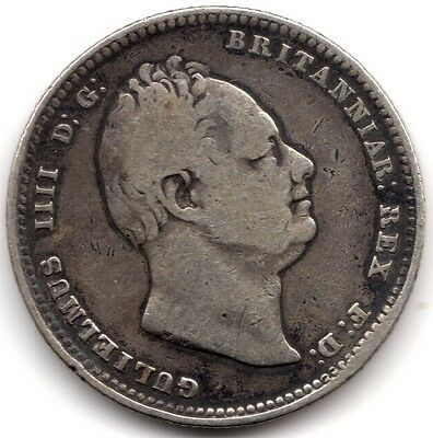1834 William IIII Silver One Shilling***Collectors***