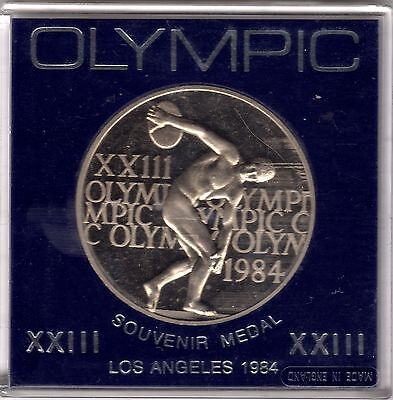 1984 Los Angeles Olympic Souvenir Medal***Collectors***Cased***