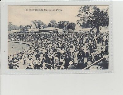 Western Australia Perth Showgrounds Claremont Animated U/P Dated 1913 H R James