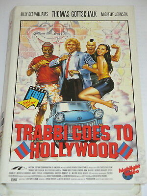 HIGHLIGHT Video 6828 - Trabbi goes to Hollywood - VHS/Thomas Gottschalk