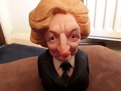 maggie thatcher dog toy spitting image from early 80s