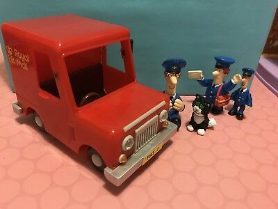 Postman Pay Jess The Cat And Van With Extra Pat Figures!