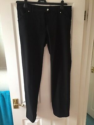 Ladies Golf Fleeced Lined Trousers, Size 12