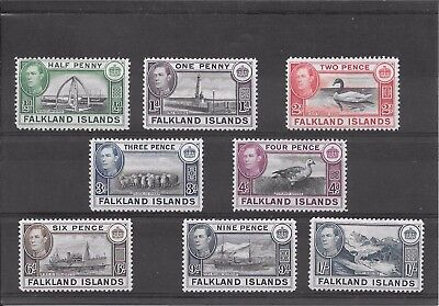 Falkland Isles P426 Coll Of Mm 1938 Kgv1 Stamps Val 61.55 2007 See Details Below