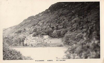 KYLEMORE ABBEY CO. GALWAY IRELAND RP POSTCARD by PADRAIG KENNELLY POSTED in 1970