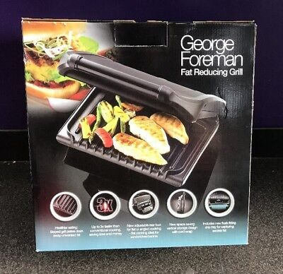 George Foreman Family 5 Portion Grill Model 19924