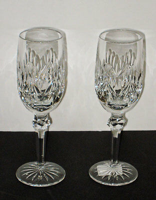waterford Pair   KIMBERLY  FLUTES  - NEW - Ireland