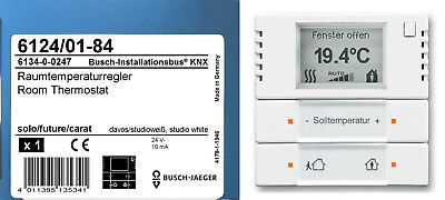 busch jaeger eib knx rtr raumtemperaturregler thermostat. Black Bedroom Furniture Sets. Home Design Ideas